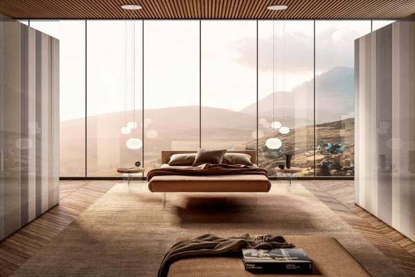 Idee d'arredo per camere matrimoniali, Lago design