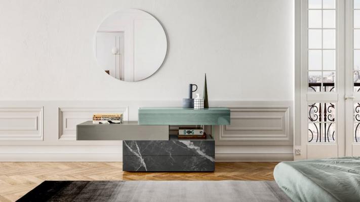 Como di design per camere da letto moderne, soluzioni Lago design