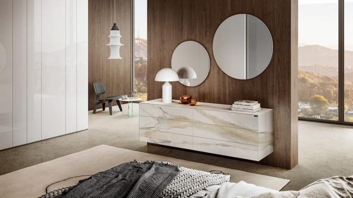 Como di design per camere da letto, idee e soluzioni Lago design