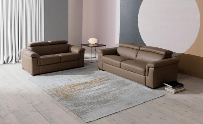 Divani e divani by Natuzzi, modelli divano letto, linea svolta