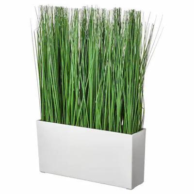 Fejka, pianta artificiale Ikea con vaso da interno effetto erba