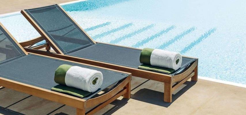 Solarium piscina - Sand Ethgrey Sunbed Ethimo