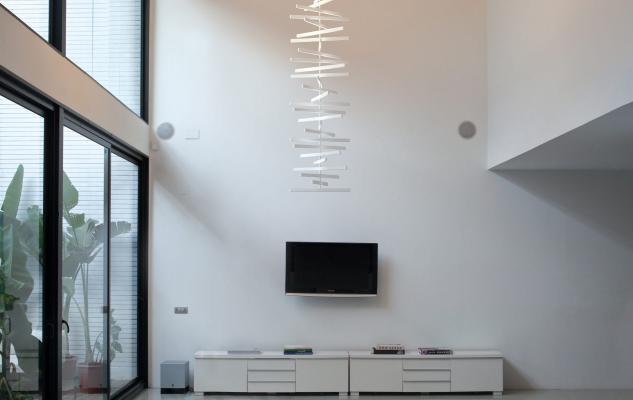 Lampadari salone - Vibia - Rhythm Vertical