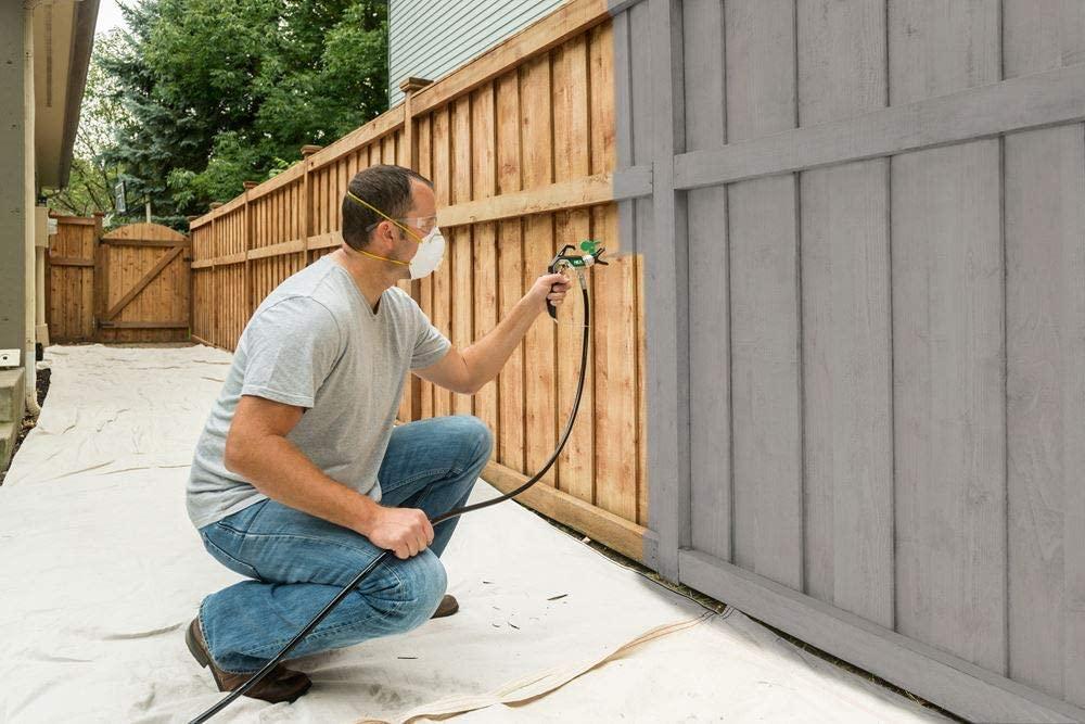 Pistola Wagner per dipingere lo steccato