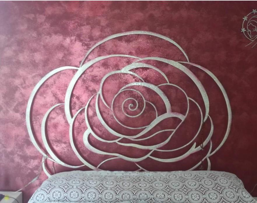 Testata letto in ferro battuto - Di Renzo