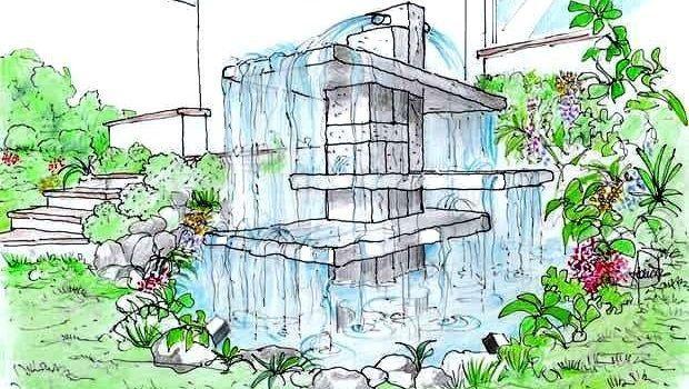 Idee per scenografiche cascate in giardino