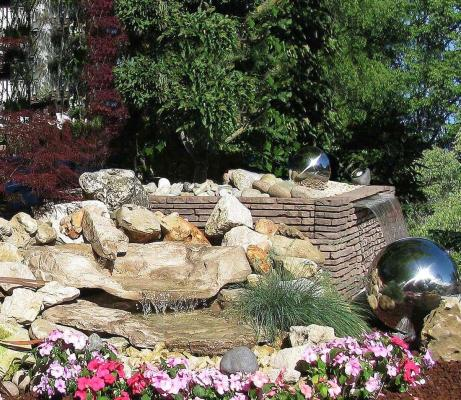 Cascata nel giardino - Gardenstone