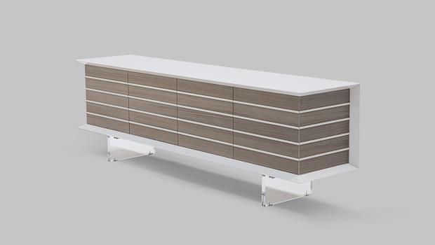 Modern furniture: Cortina sideboard - Photo: Costantini Pietro