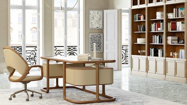 Contemporary style furniture, Isabel desk - Photo: Morelato
