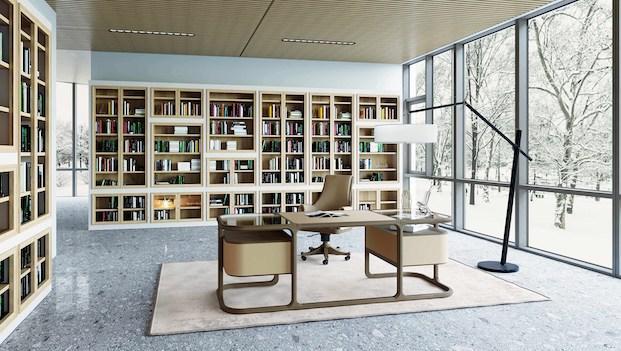 Contemporary classic home: Isabel desk - Photo: Morelato