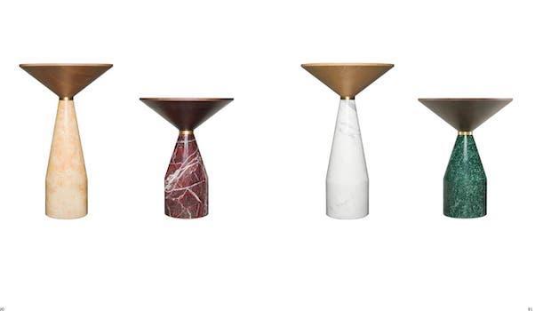 Contemporary furniture: Cino coffee tables - Photo: Morelato