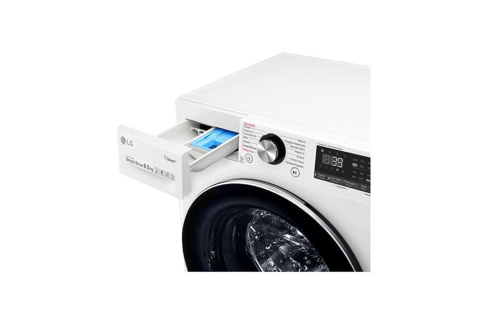 Lavatrice Smart Slim AI DD™ TurboWash™ F2WV9S8P2 - Foto: LG
