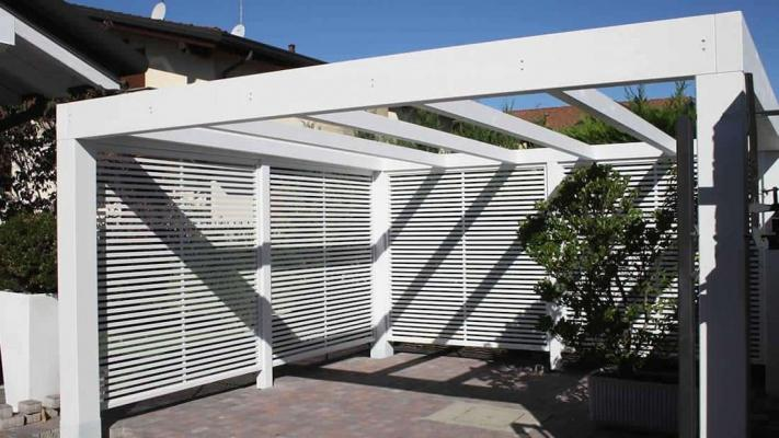Gazebo Contemporary Wood  - Proverbio Outdoor Design