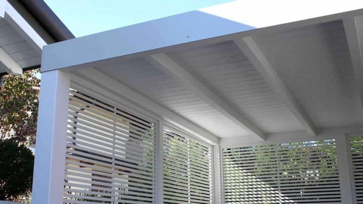 Gazebo Contemporary Wood Proverbio Outdoor Design