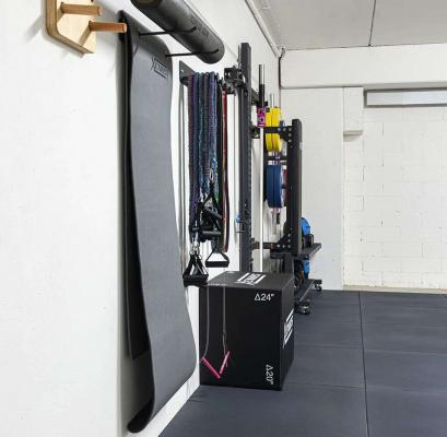 Parete fitness in garage - Xenios USA