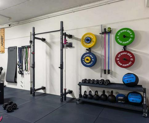 Palestra verticale in garage - Xenios USA