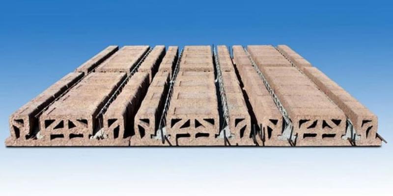 Con il legno mineralizzato si realizzano anche solai - Isotex
