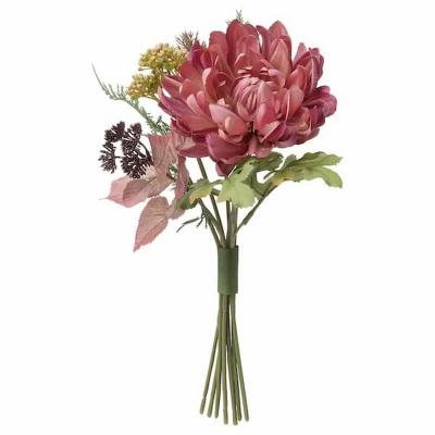 Smycka, bouquet di fiori finti viola Ikea