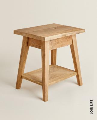 Tavolino in legno riciclato - Foto: Zara Home