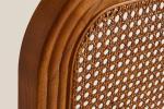 Testiera letto in legno e rattan, intreccio - Foto: Zara Home