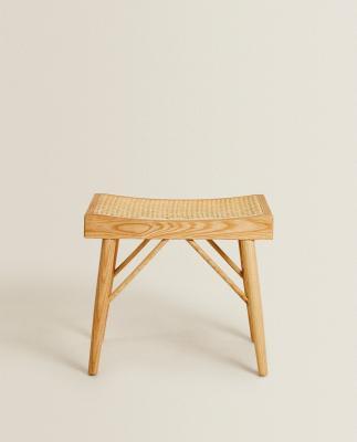 Panca piccola in legno - Foto: Zara Home