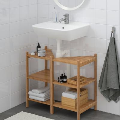 Mobile sottolavabo in bambù - Foto: Ikea