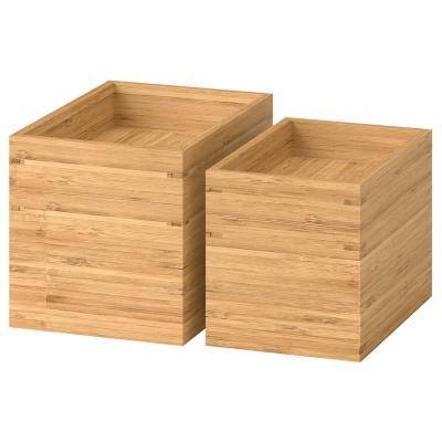 Set di scatole in bambù Dragan - Foto: Ikea