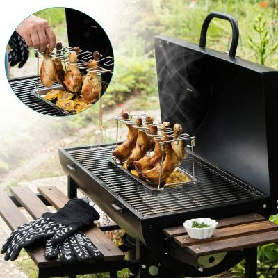 Supporti per la cottura del pollo