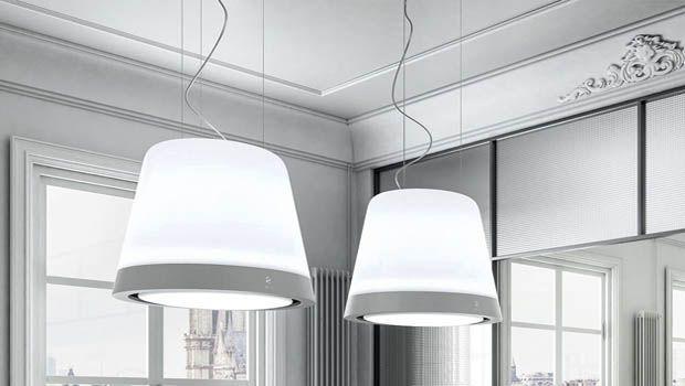 Una cappa lampadario per una cucina elegante
