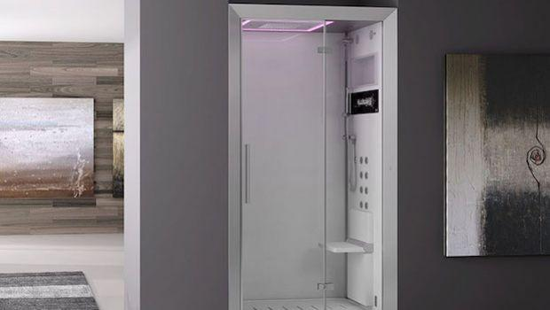 Cabina doccia multifunzione con idromassaggio e vapore: wellness in casa!