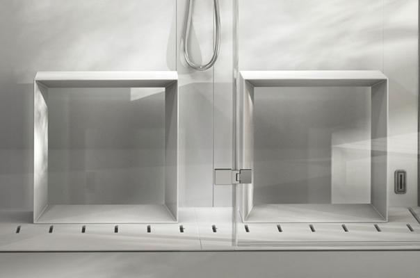 Sedili, cabina doccia multifunzione Frame - Foto: Jacuzzi