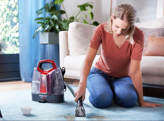 Bissell per pulizia divani e tappeti