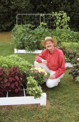 L'ideatore dello Square Foot Gardening