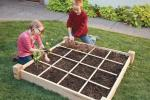Square Foot Gardening con i bambini