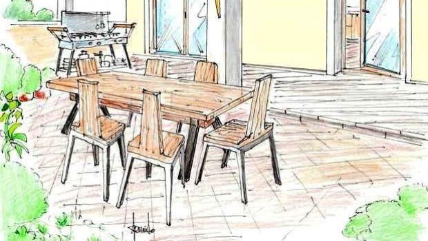 Arredo esterno: idee per zona pranzo e salotto outdoor