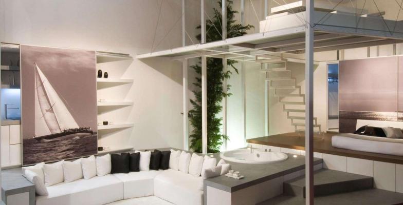 Loft con soppalco GM Architecture