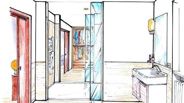 Doccia passante: idee per spazi contemporanei