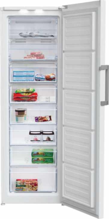 Congelador de cajón Beko RFNE312E33WN