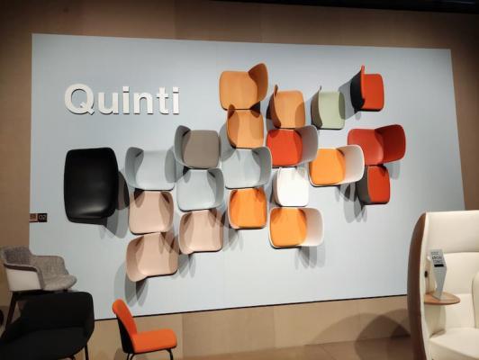 Salone internazionale del mobile: stand Quinti