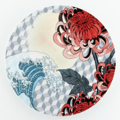 Collezione Wallpaper, piatto Fuji by A. Castrignano - Foto: Weissestal