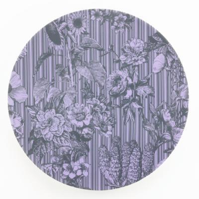 Collezione Wallpaper, piatto Floris by A. Castrignano - Foto: Weissestal