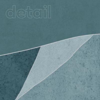 Carta da parati Turquoise Stone, dettaglio - Foto: Ambientha