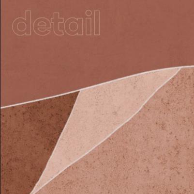 Carta da parati Copper Stone, dettaglio - Foto: Ambientha