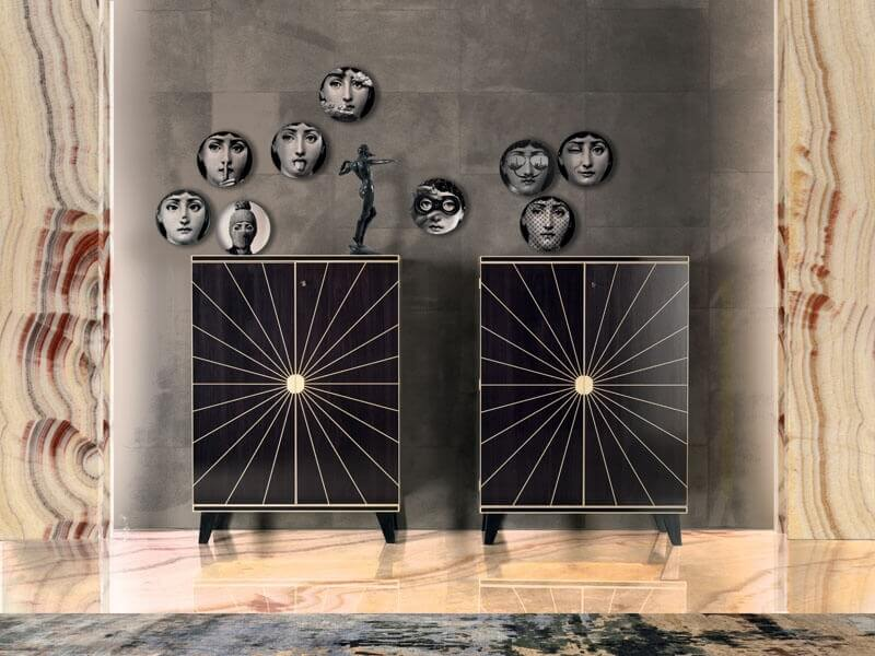 Art Deco sideboards - Bertelè Mobili