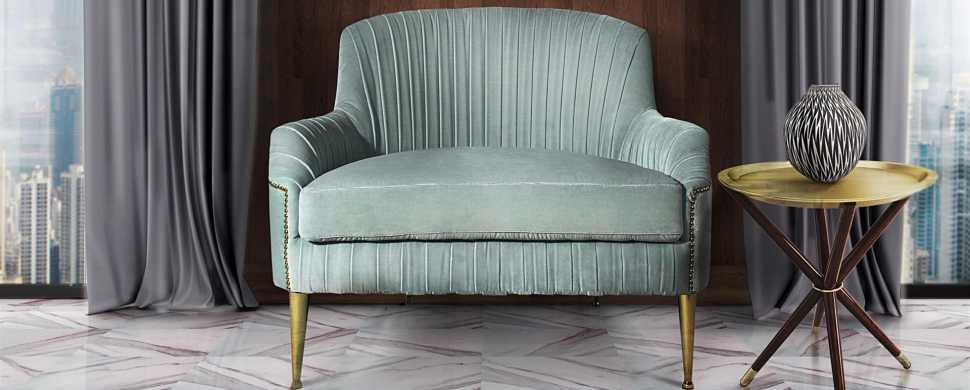 Art Deco armchair - Greta - Ottiu
