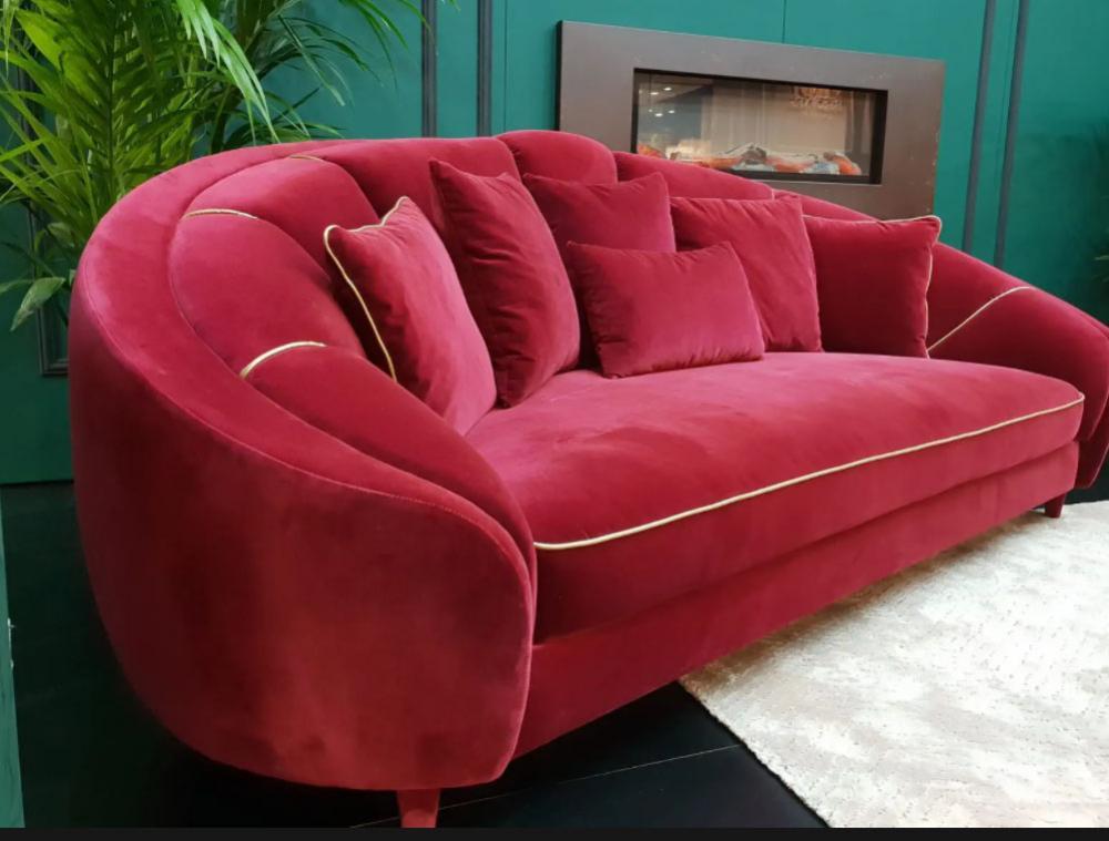 Divano stile Art Deco - Ruby - Moranti