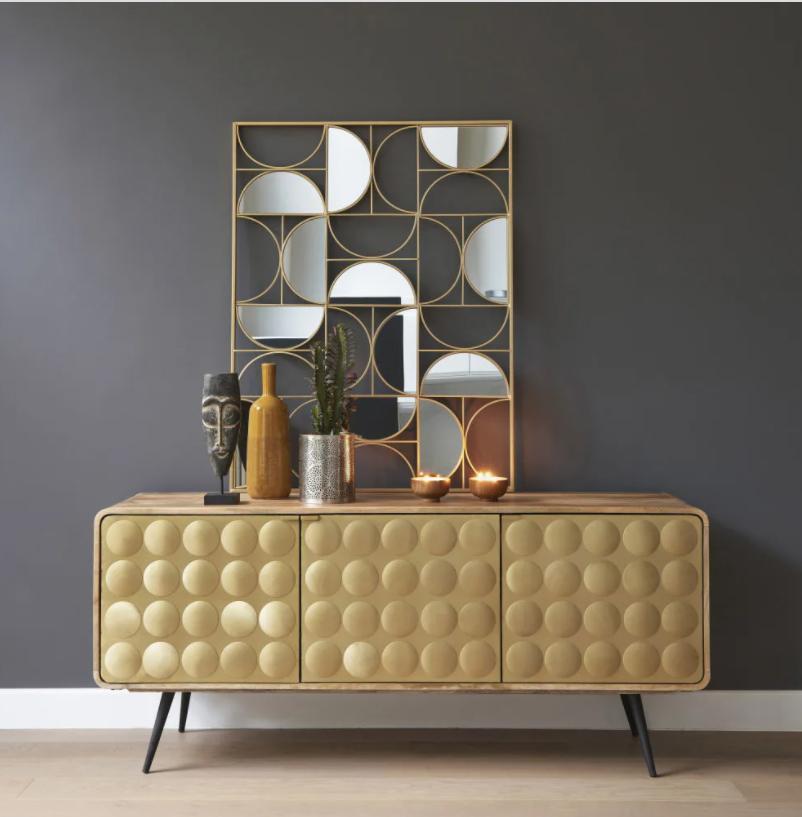 Stile Art Deco - Specchio Goldfinger - Maisons du Monde