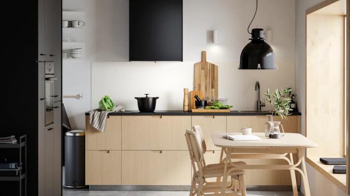 Arredamento minimalista per la cucina, soluzioni IKEA