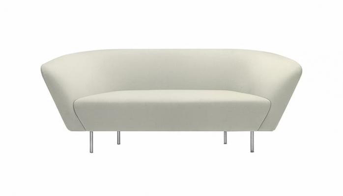 Arredare il soggiorno in stile minimal, Arper, linea Loop sofa