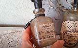 Esempio di una bottiglietta anticata